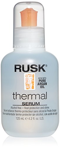 Rusk Styling Tools (RUSK Designer Collection Thermal Serum with Argan Oil, 4.2 fl. oz.)