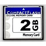 2GB CompactFlash memory card (CF) use for Camera