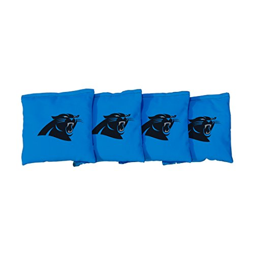 Victory Tailgate NFL Carolina Panthers Cornhole Bag, Size Regular, Blue