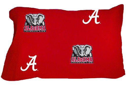 Price comparison product image Alabama Printed Pillow Case - King - (Set of 2) - Solid