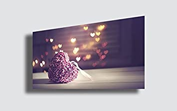 Quadro moderno cuore hearth love amore arte astratto cucina