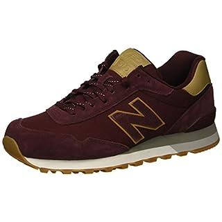 New Balance Men's 515 V1 Sneaker, Burgundy/Hemp, 18 D US