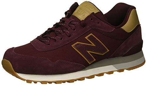 Burgundy Footwear - New Balance Men's 515v1 Sneaker, Burgundy/Hemp, 16 D US