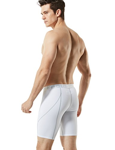 Large Product Image of Tesla Men's Compression Shorts Baselayer Cool Dry Sports Tights MUS17/S17