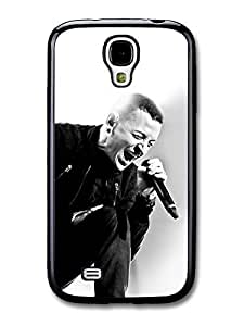 AMAF ? Accessories Chester Bennington Black and White Linking Park Singing case for Samsung Galaxy S4