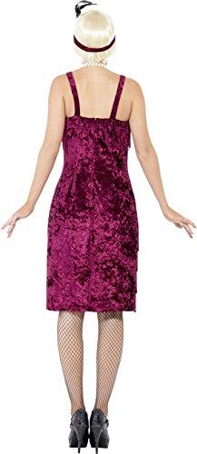 Rh Smith & Fils Ltd Costume Flapper Jazz Féminin De Smiffy, Robe Et Couvre-chef, 20 L'éblouir De Razzle, Amusement Sérieux, Taille 10-12, 26110