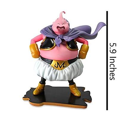 Lilongjiao Dragon Ball Majin Buu PVC Figure -High 5.9 Inches: Toys & Games