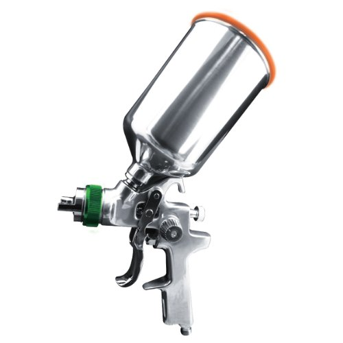 Astro HVLP507 Gravity Feed Spray Gun - 1.7mm Nozzle with Aluminum Cup by Astro Pneumatic Tool