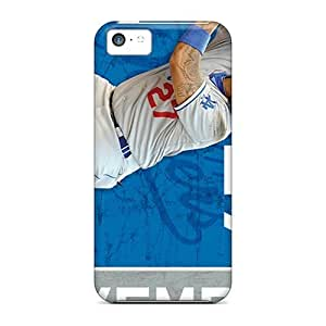 New XMkvMYR8007vmDVW Los Angeles Dodgers Skin Case Cover Shatterproof Case For Iphone 5c