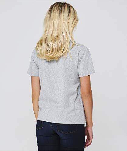 JEANS Ricamato da Grigio Armani T Logo Donna Shirt Grigio Filo ARMANI wqUaExIdq