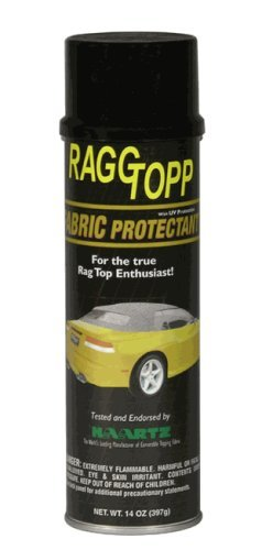 RaggTopp - 2141 Fabric Protectant - Restores, Protects, and Maintains Convertible Tops