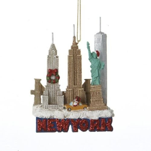 (Kurt Adler 3.75 Inches Tall City Travel New York City Ornament)