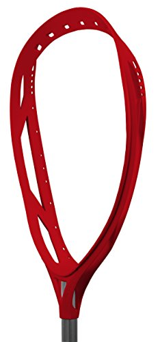 Warrior Nemesis Goalie Unstrung Lacrosse Head, Red