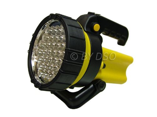 toolzone TO176 37 LED 4V4AH Rechargeable Lantern Spotlight - Yellow