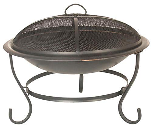 Backyard Creations Steel Round Fire Pit, 23