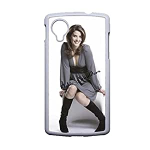 Generic High Quality Back Phone Cover For Kids Printing Cobie Smulders For Lg Google Nexus 5 Choose Design 1