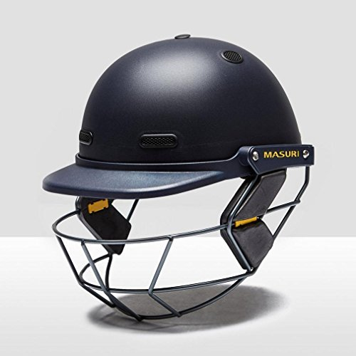 MASURI VS Club Junior Cricket Helmet, Blue, One Size by Masuri by Masuri