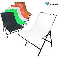 Boomer888 Shooting Table Photo Life Photography Studio Non Reflective White Durable Aluminum Tube Table Polyvinyl Chloride Board Photo Studio Bench 8 Clamps