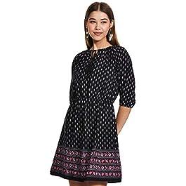 Buy SERA Women's A-Line Mini Dress India 2021