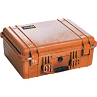 Pelican 1550 Camera Case With Foam (Orange)