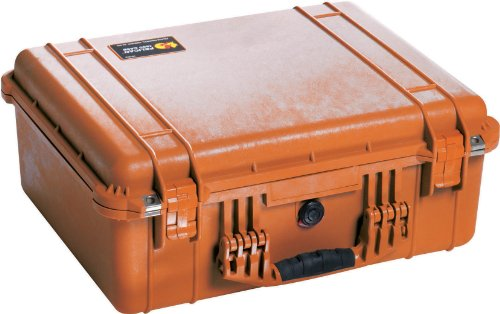 Pelican 1550 Camera Case With Foam (Orange) (Pelican Case 1550 Orange)