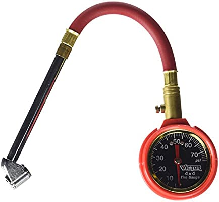 LOW PRESSURE TIRE GAUGE by VICTOR MfrPartNo 22-5-00887-8