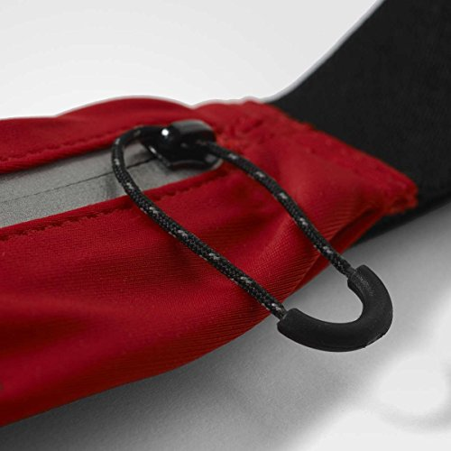 sclred Unisex Adidas Adult Refsil Cintura Red Black Run Belt wqYRfqFTt