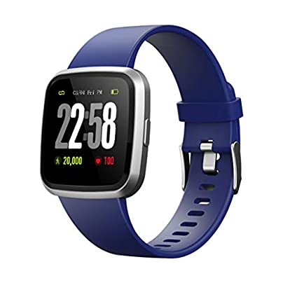 Ni ka Fitness Tracker V12C Smart Watch Activity Tracker with Step Counter Watch and Sleep Monitor IP68 Waterproof Fitness Wristband Calorie Counter Pedometer Watch for Kids Women Men Estimated Price -