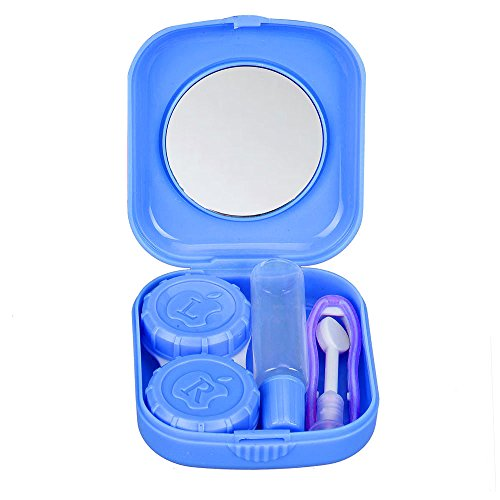 TONSEE Cute Mini Contact Lens Case Travel Kit