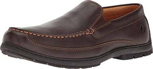 Sperry Top-Sider Men's Gold Loafer Slip on Shoes Brown 10.5 (Sperry Gold Cup)