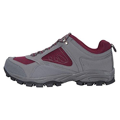 Mountain Warehouse Zapatillas para Mujeres Mcleod Burdeos