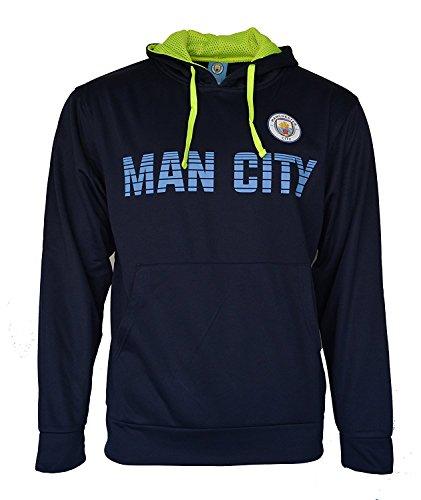Front Fleece Jacket Sweatshirt Official License Soccer Hoodie Large 022 (Embroidered Soccer Sweatshirt)