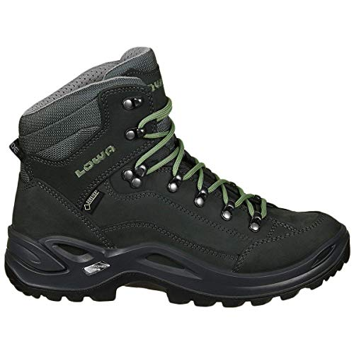 Lowa Women's Renegade GTX Mid Hiking Boot (9 M US, Graphite/Jade)