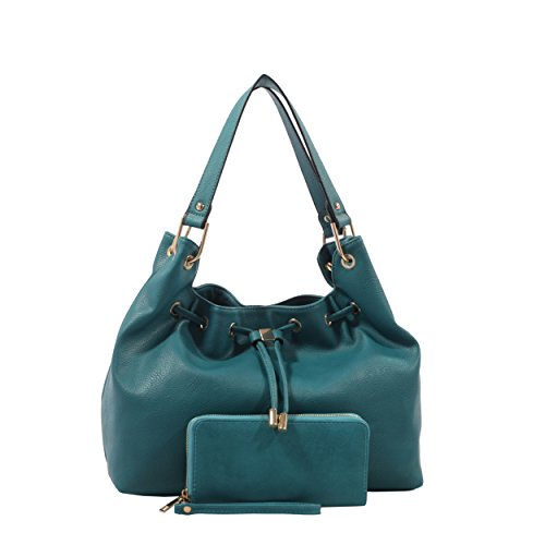 - Emperia Outfitters Jasmine Concealed Carry Hobo & Wallet Set (Turquoise)