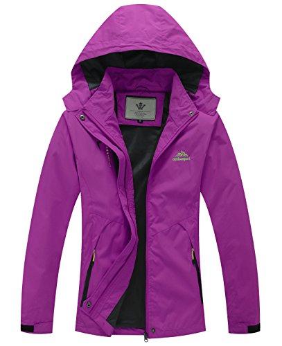 zip up rain coat - 3