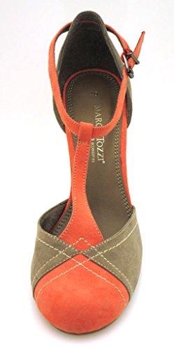 Marco Tozzi mehrfarbige Pumps Damenpumps Damenschuhe Business High Heels