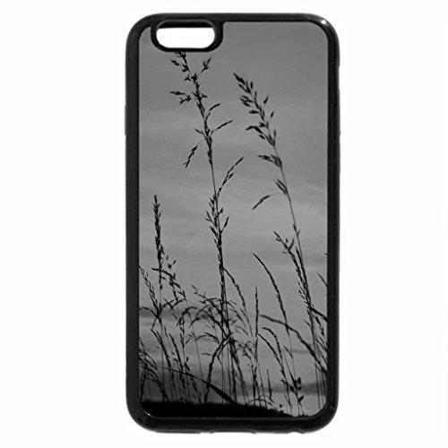 iPhone 6S Plus Case, iPhone 6 Plus Case (Black & White) - Barley Sunset