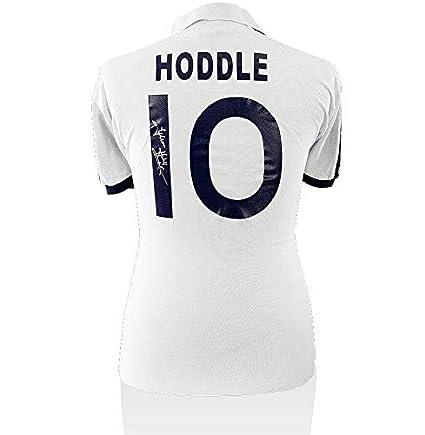 newest 537a9 b3004 Glenn Hoddle Signed Tottenham Hotspur Shirt - Home 1978 ...