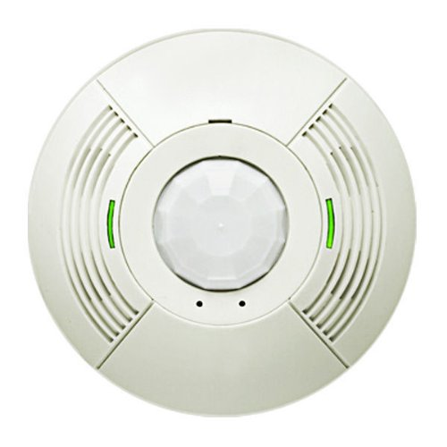 Lutron LOS-CDT-2000-WH - 360?? Dual-Tech Ceiling Mount Occupancy Sensor - For Incandescent and Fluorescent Loads - 24VDC