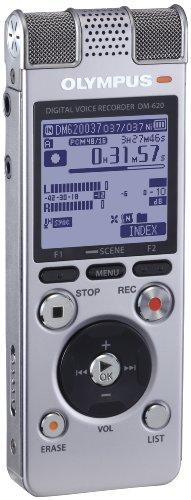 - Olympus 142665 DM-620 SLV Voice Recorder