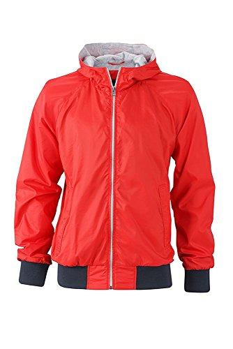 Giacca Promozione Tempo Light navy Libero Jacket E Per Men's Sportiva red Il Sports rYnwO6rq
