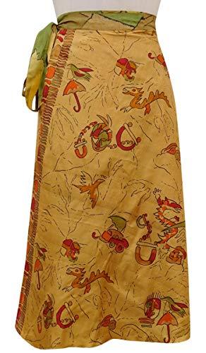 Maxi Clair Hippie Indianbeautifulart Court Pure Soie Wrap Saree Rversible Vintage Marron w6waxX1Zgq
