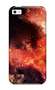 Durable Case For The Iphone 5c- Eco-friendly Retail Packaging(space Art )