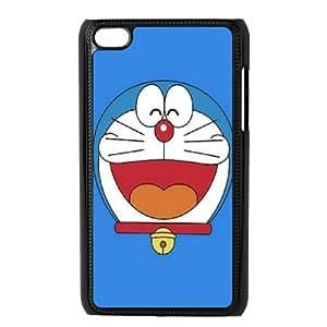 DIY Printed Doraemon hard plastic case skin cover For Ipod Touch 4 SN9V493541
