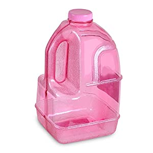 1 Gallon BPA FREE Reusable Plastic Drinking Water Bottle Jug Container - Pink