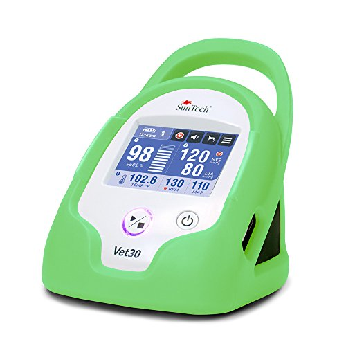 SunTech Vet30 Veterinary Continuous Vital Signs Monitor with Tree Frog Green ()