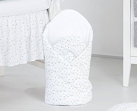 Sevira Kids - Saco de dormir para bebé con diseño de estrellas de color azul blanco