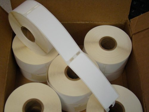 72 Rolls of 355 1.125x3.5 Dymo Compatible Address Shipping Labels 30252 for DYMO LabelWriters 330 400 450 Twin Turbo Duo 4XL Printer