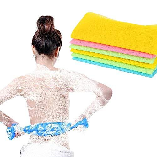 Amazon.com: HAVIPRO Exfoliating Nylon Bath Shower Body Cleaning Washing Scrub Cloth Towel Bathroom Sponges Scrubbers Bath Towel Toallas for Adults: Home & ...