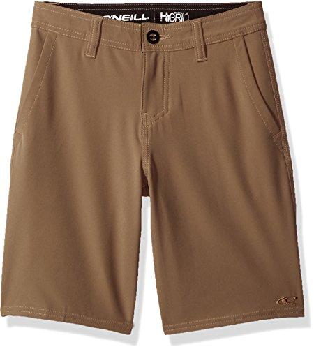 O'Neill Big Boys Loaded Solid Hybrid Short, Khaki, ()